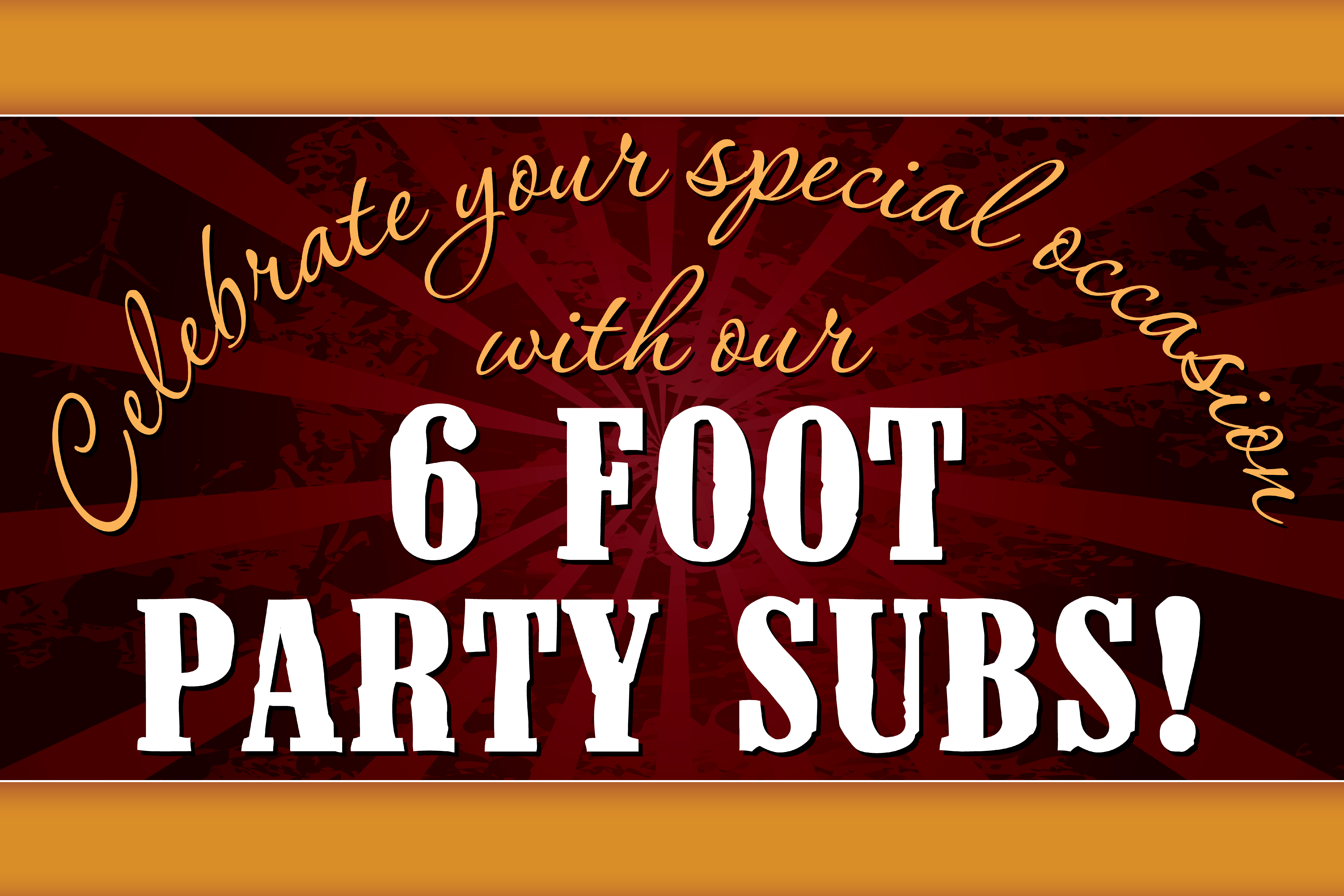 6 Foot Sub Banner 1