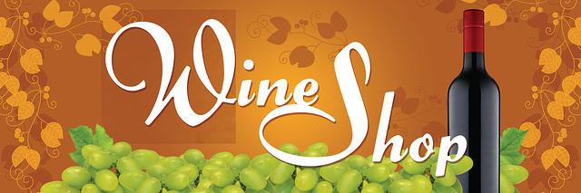 Wine Shop Banner