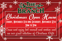 Christmas Open House Postcard