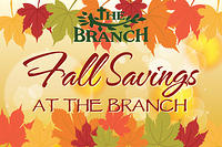 Fall Savings Postcard